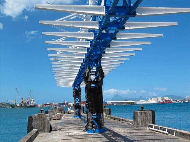 Eprolor - Gare maritime de Papeete Tahiti